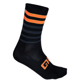 Alé Cycling Speed Fondo Socks black-fluo orange